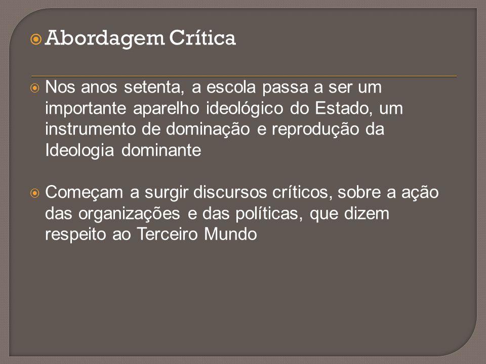 Abordagem Crítica