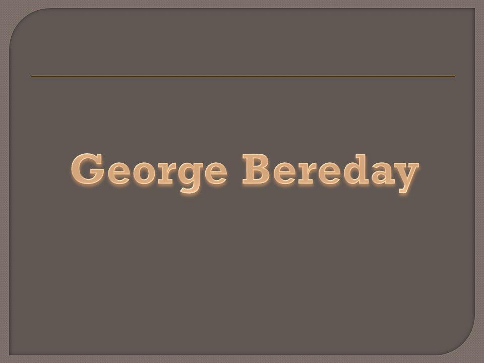 George Bereday