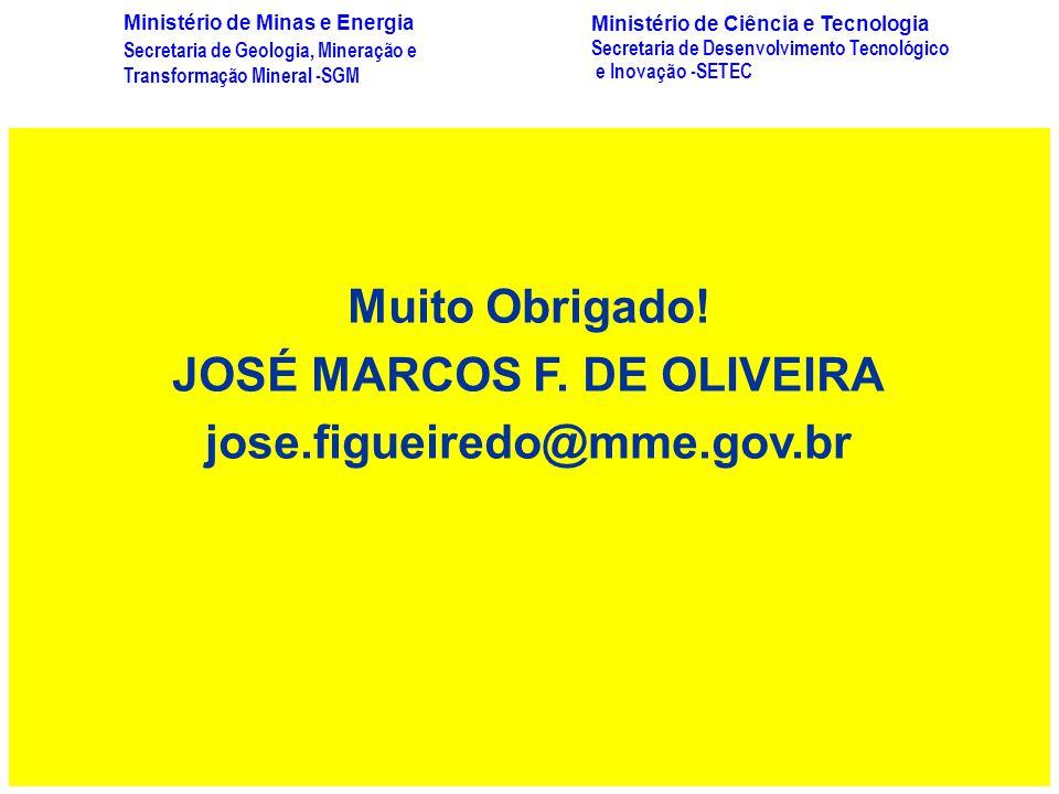 JOSÉ MARCOS F. DE OLIVEIRA