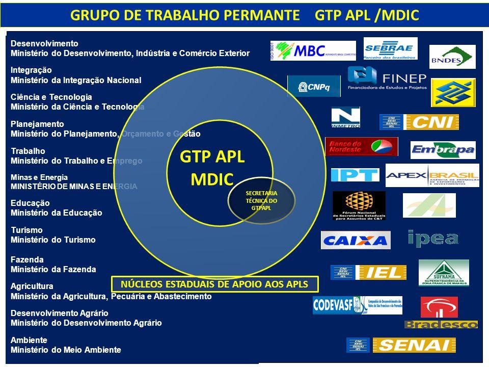 GTP APL MDIC GRUPO DE TRABALHO PERMANTE GTP APL /MDIC
