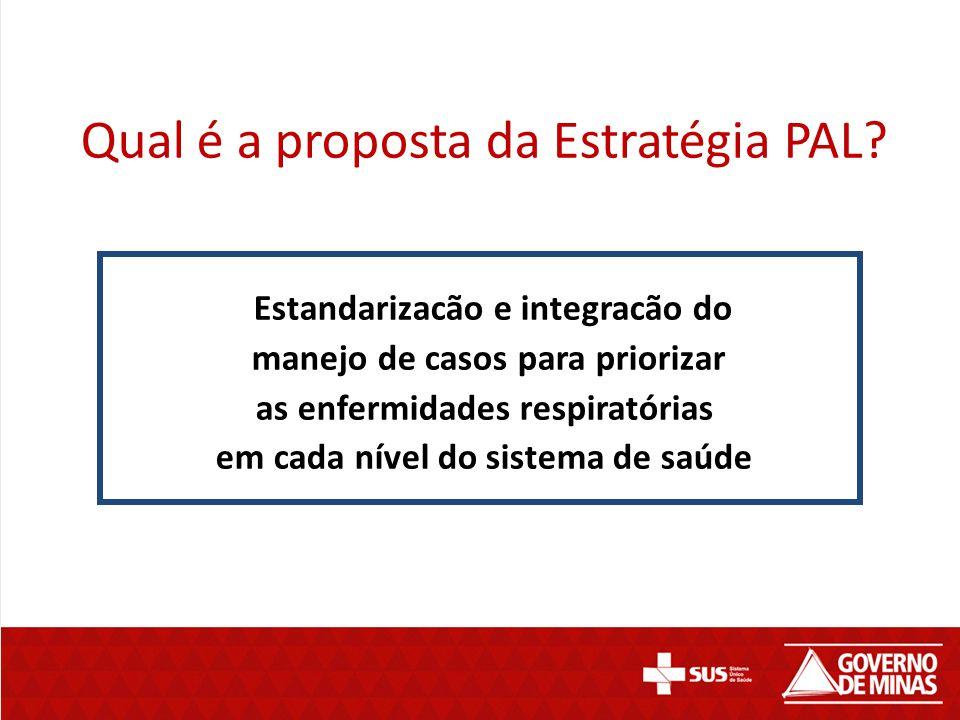 Qual é a proposta da Estratégia PAL