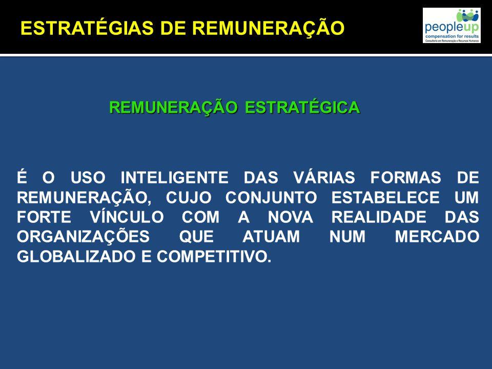 ESTRATÉGIAS DE REMUNERAÇÃO