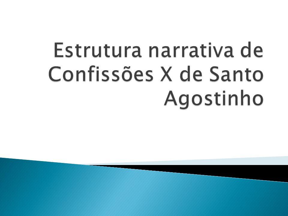 Estrutura narrativa de Confissões X de Santo Agostinho
