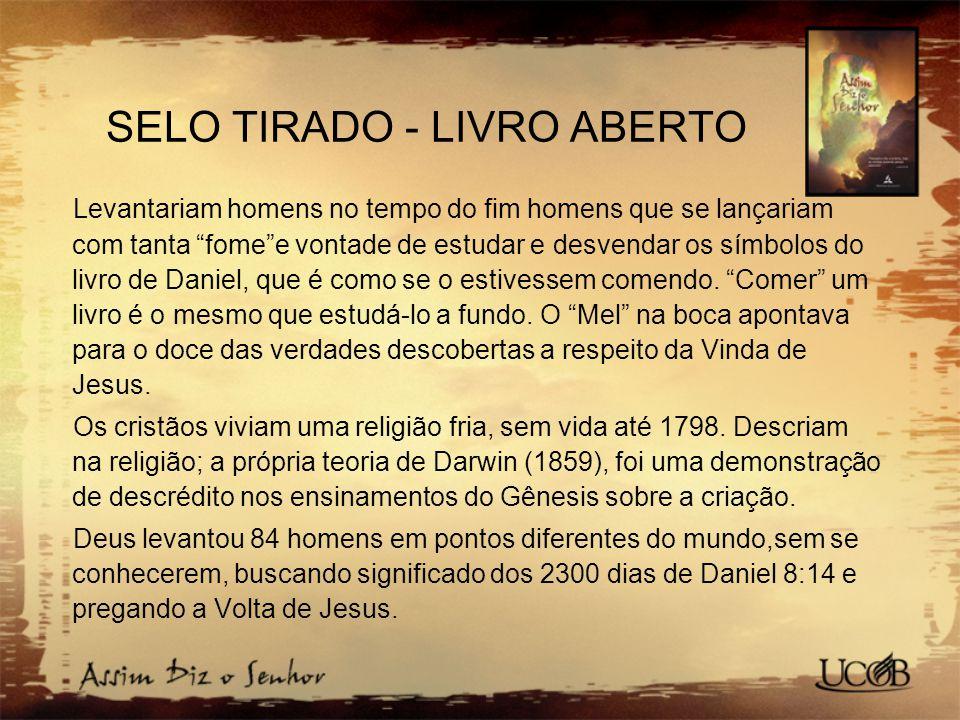 SELO TIRADO - LIVRO ABERTO