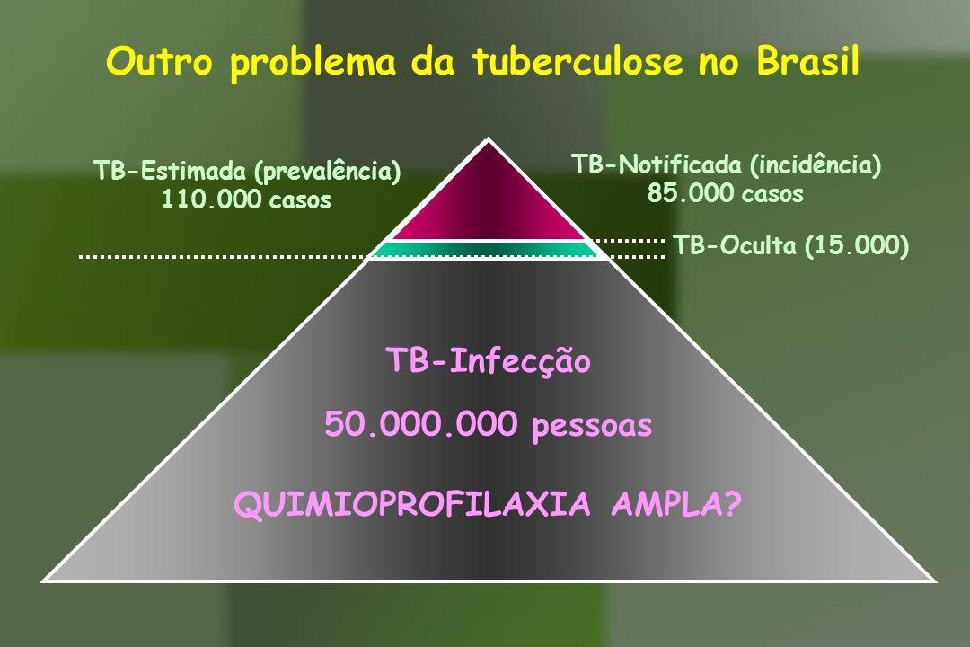 Outro problema da tuberculose no Brasil