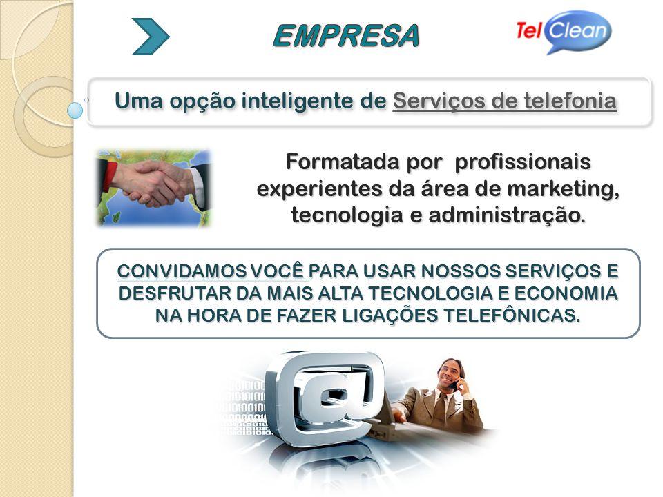 Uma opção inteligente de Serviços de telefonia