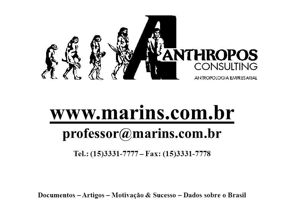 Documentos – Artigos – Motivação & Sucesso – Dados sobre o Brasil