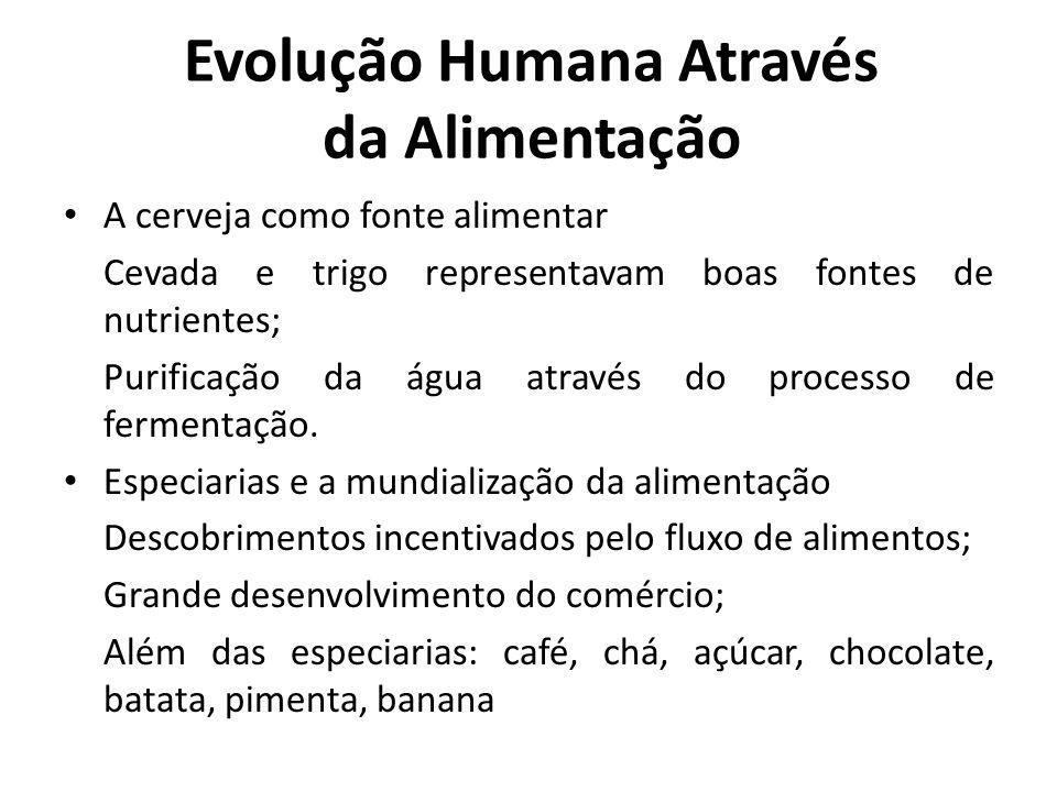 Evolução Humana Através da Alimentação