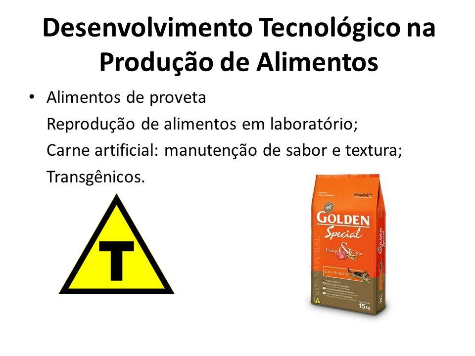 Desenvolvimento Tecnológico na Produção de Alimentos