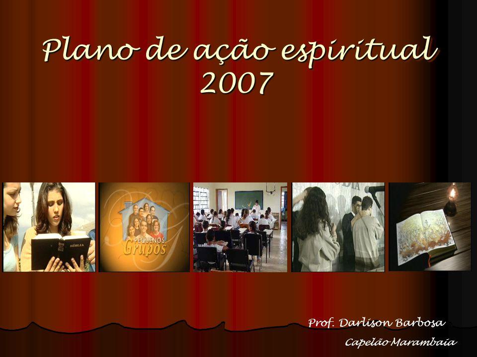 Plano de ação espiritual 2007