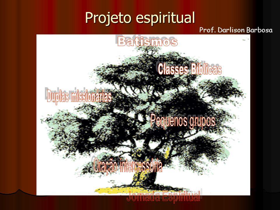 Projeto espiritual Prof. Darlison Barbosa Batismos Classes Bíblicas