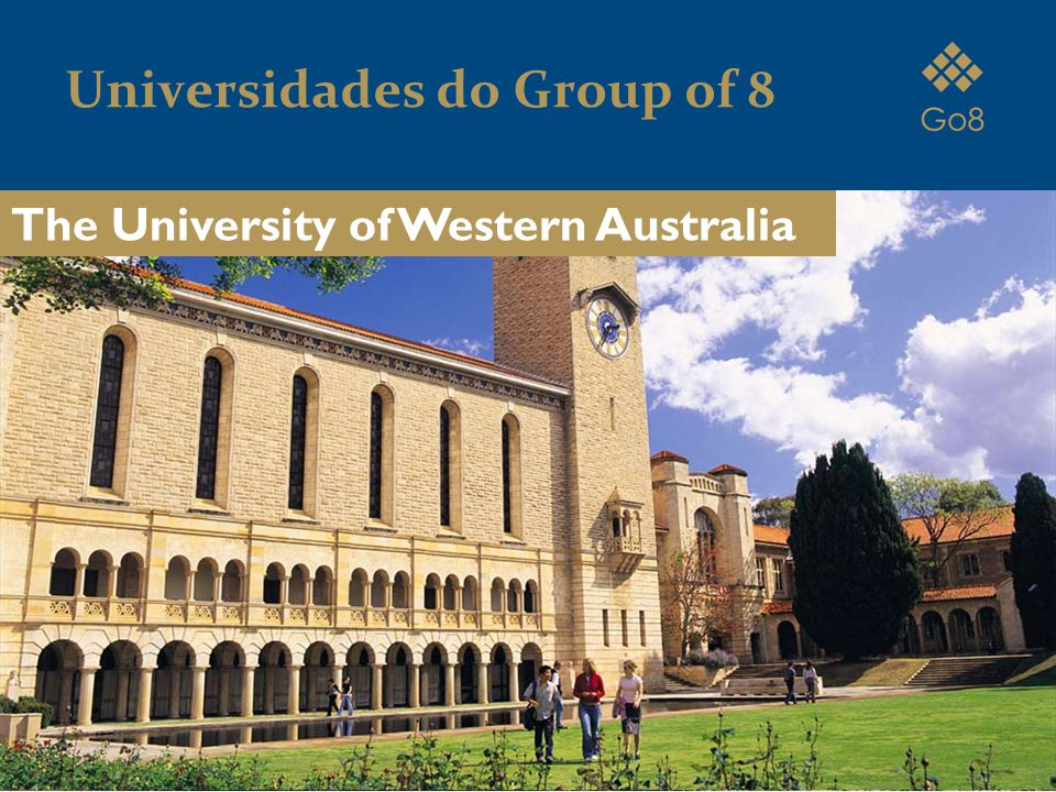Universidades do Group of 8