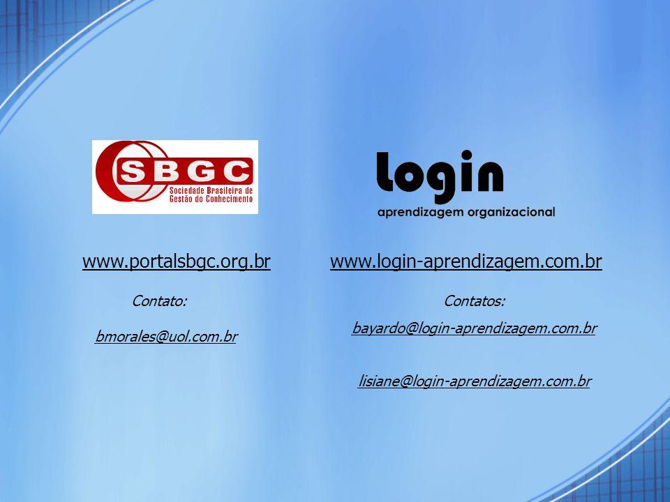 www.portalsbgc.org.br www.login-aprendizagem.com.br Contato: