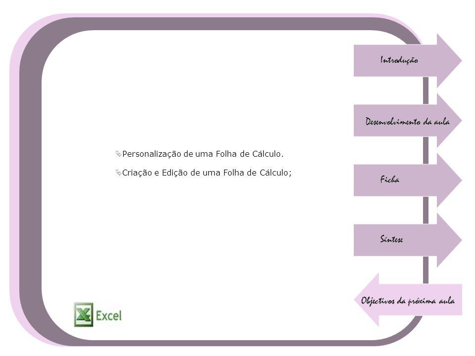 Desenvolvimento da aula