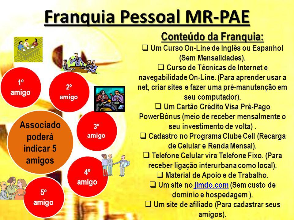 Franquia Pessoal MR-PAE