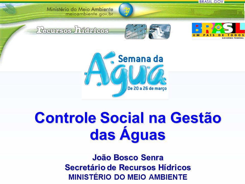 Controle Social na Gestão das Águas