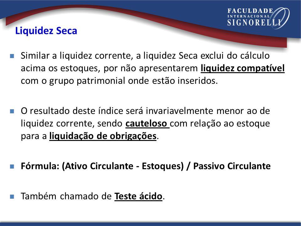 Liquidez Seca