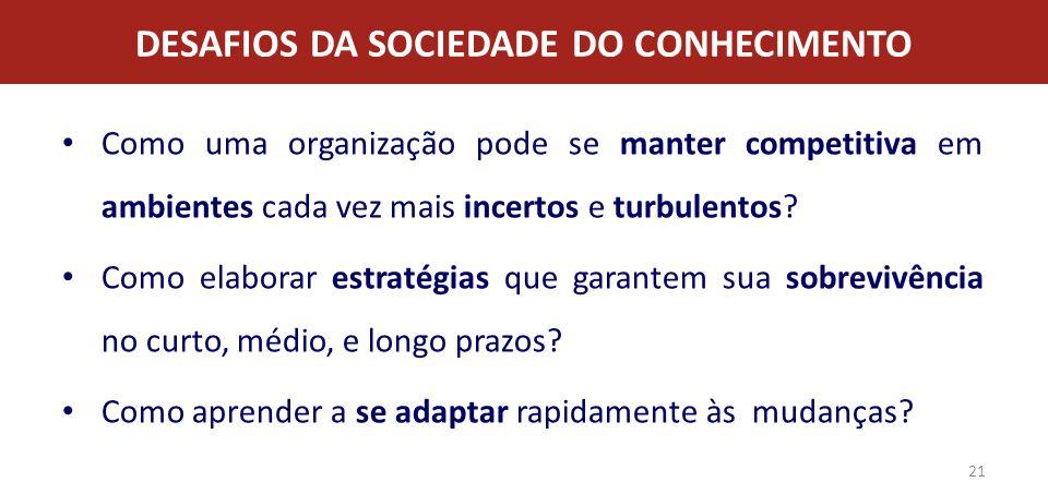 DESAFIOS DA SOCIEDADE DO CONHECIMENTO