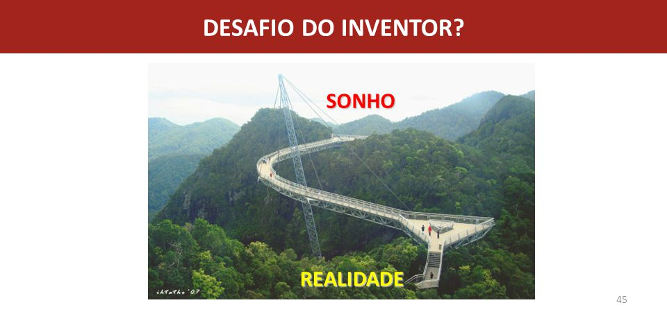 DESAFIO DO INVENTOR SONHO REALIDADE