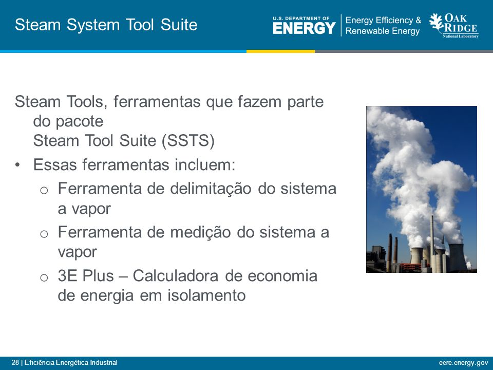 Steam System Tool Suite