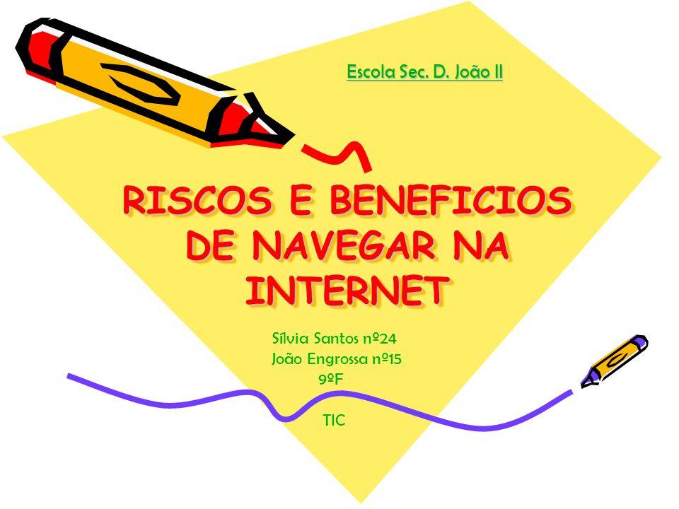 RISCOS E BENEFICIOS DE NAVEGAR NA INTERNET