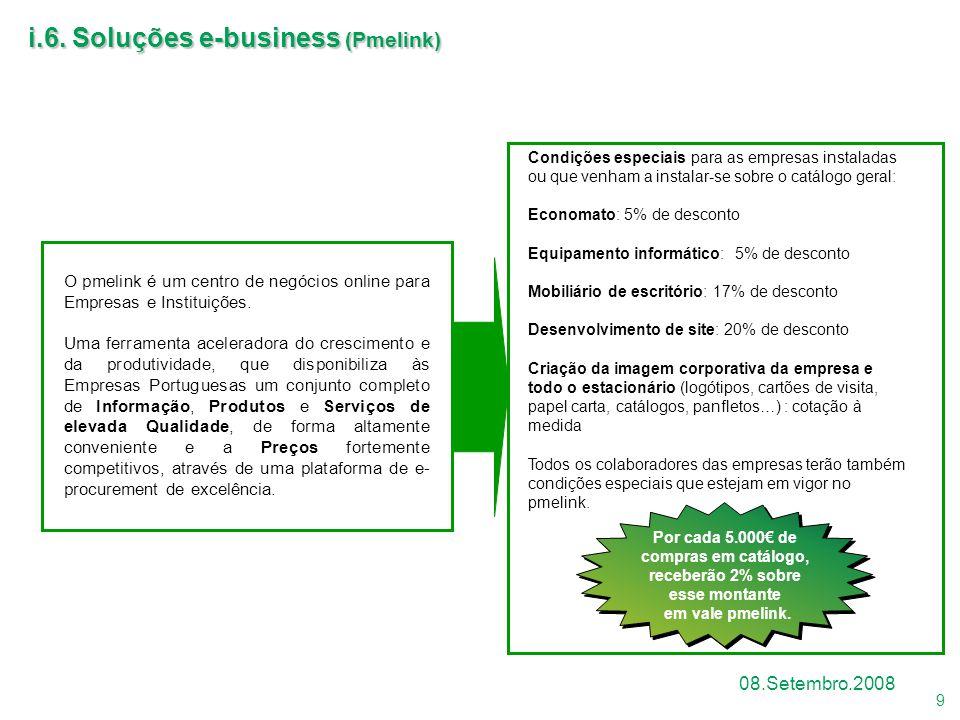 i.6. Soluções e-business (Pmelink)