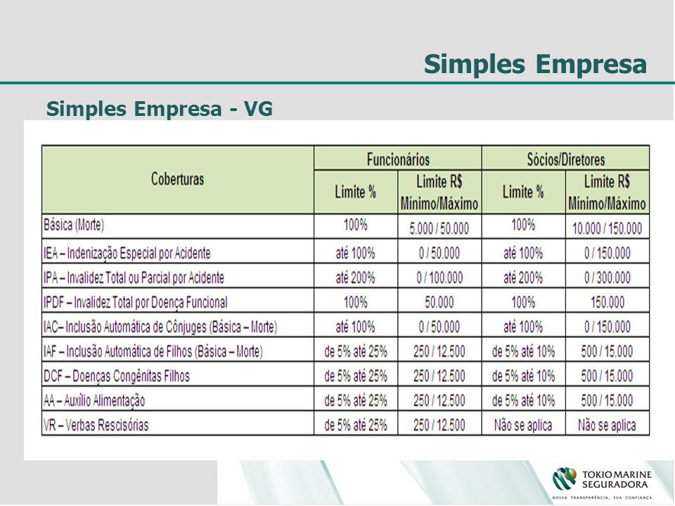 Simples Empresa Simples Empresa - VG