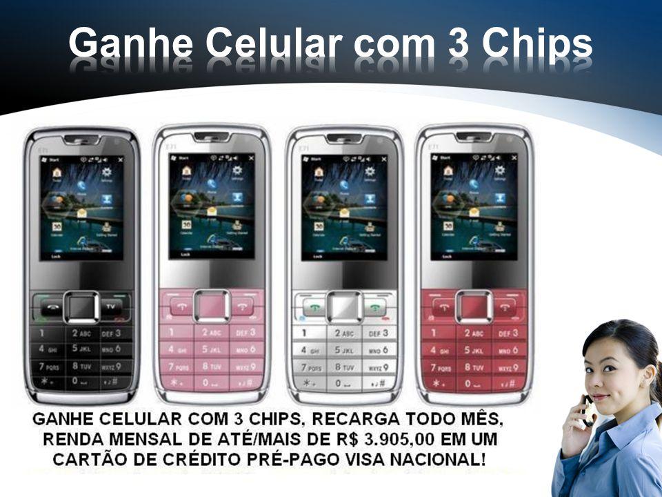 Ganhe Celular com 3 Chips