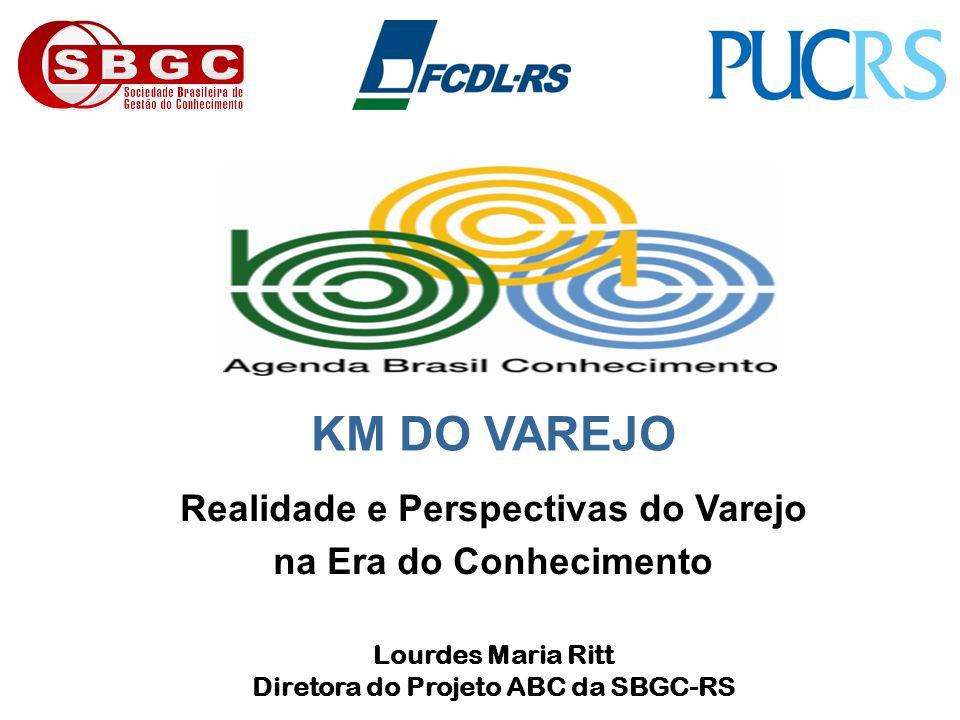 Realidade e Perspectivas do Varejo Diretora do Projeto ABC da SBGC-RS