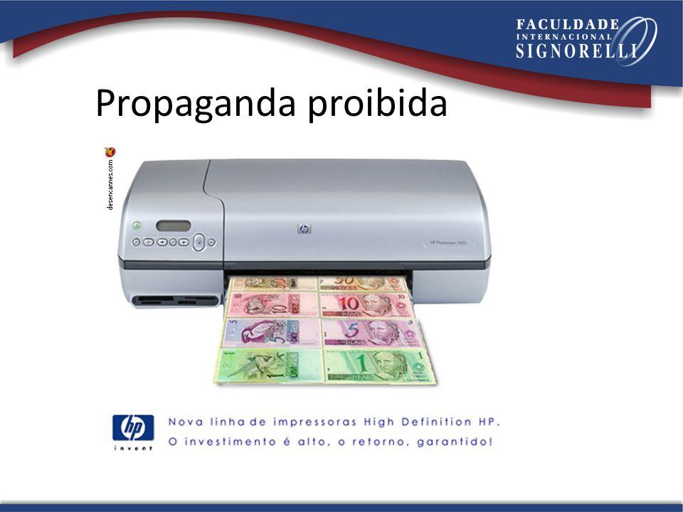 Propaganda proibida