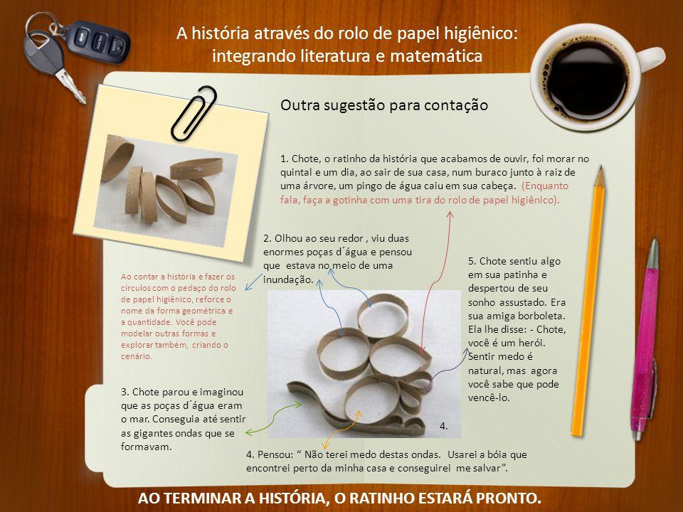 A história através do rolo de papel higiênico: integrando literatura e matemática