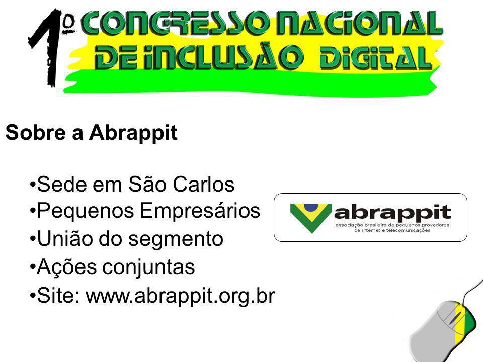 Sobre a Abrappit Sede em São Carlos. Pequenos Empresários.