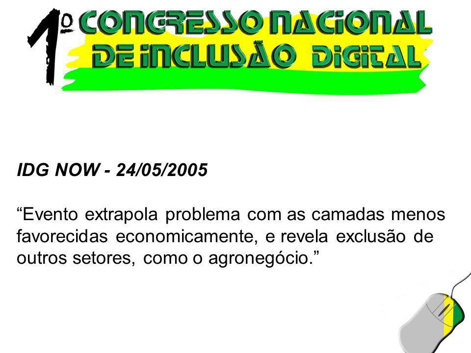 IDG NOW - 24/05/2005