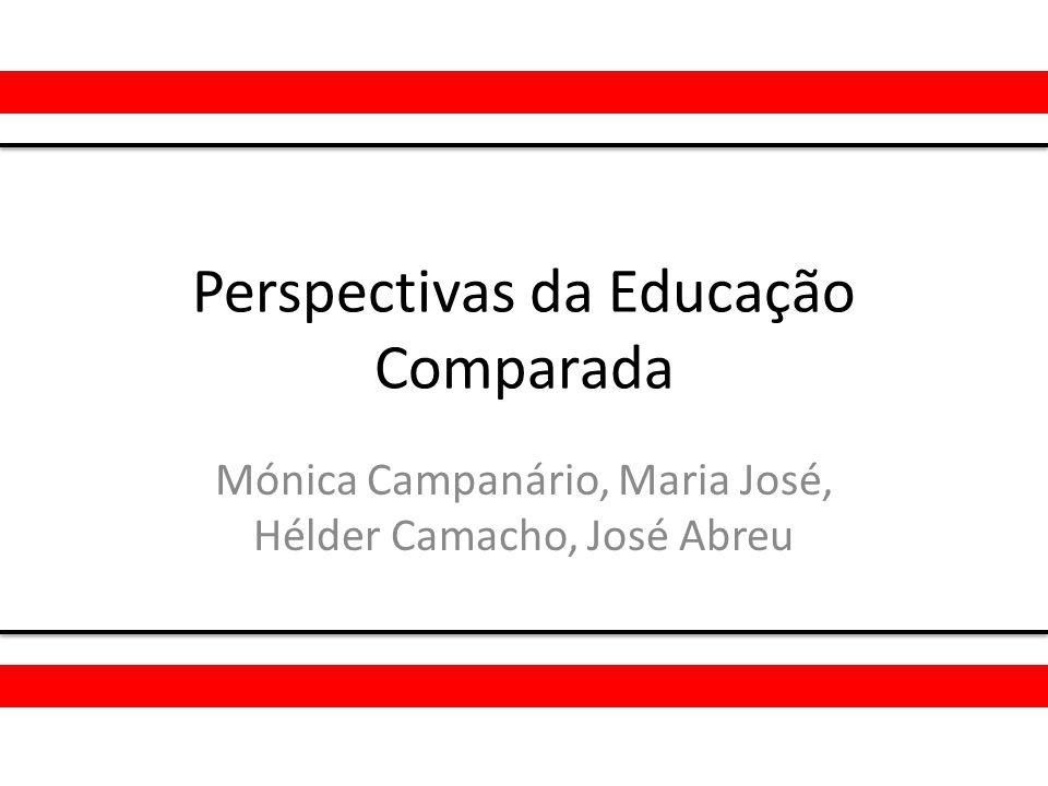 Perspectivas da Educação Comparada