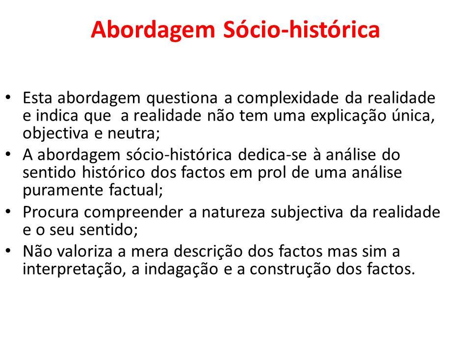 Abordagem Sócio-histórica