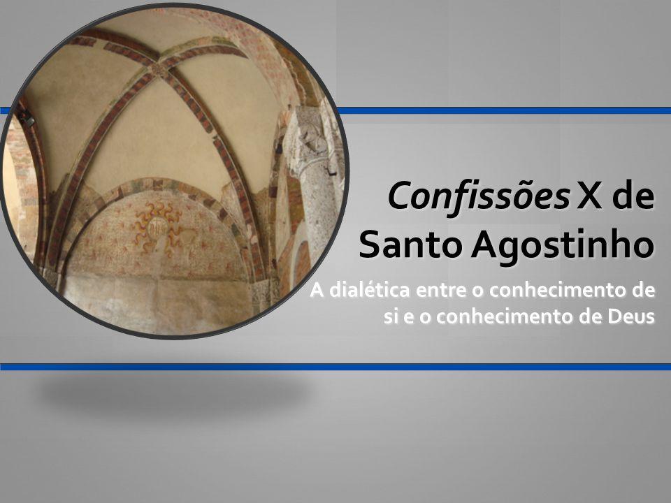 Confissões X de Santo Agostinho