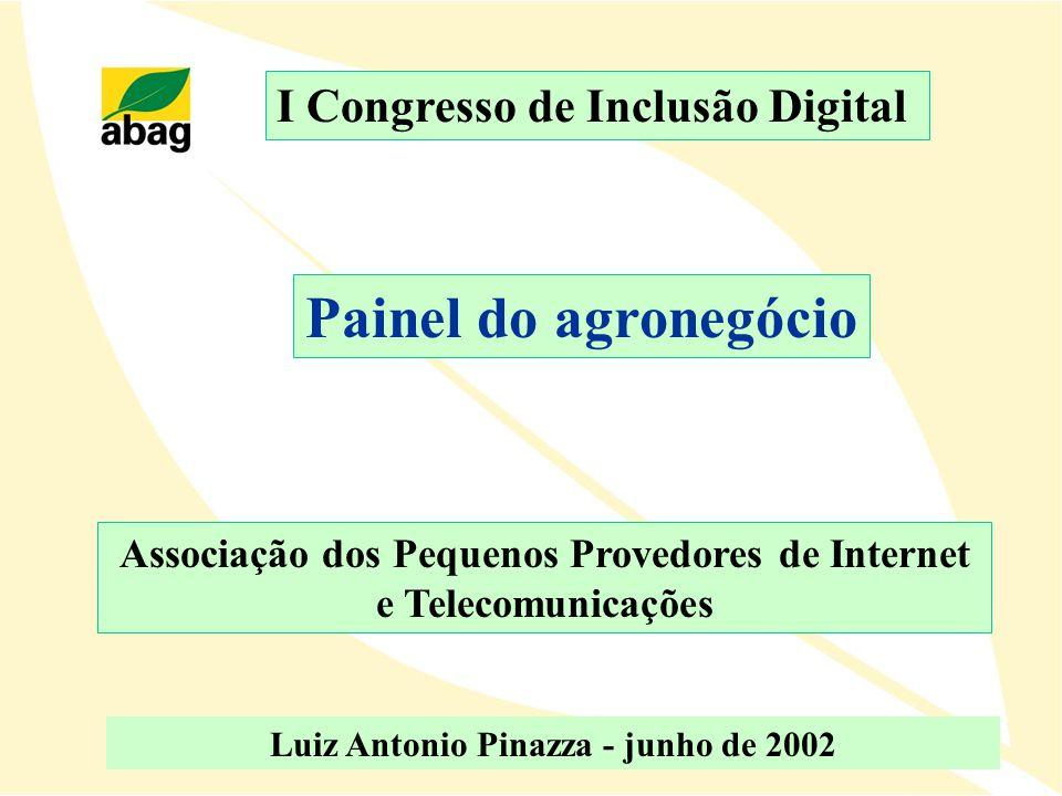 Painel do agronegócio I Congresso de Inclusão Digital