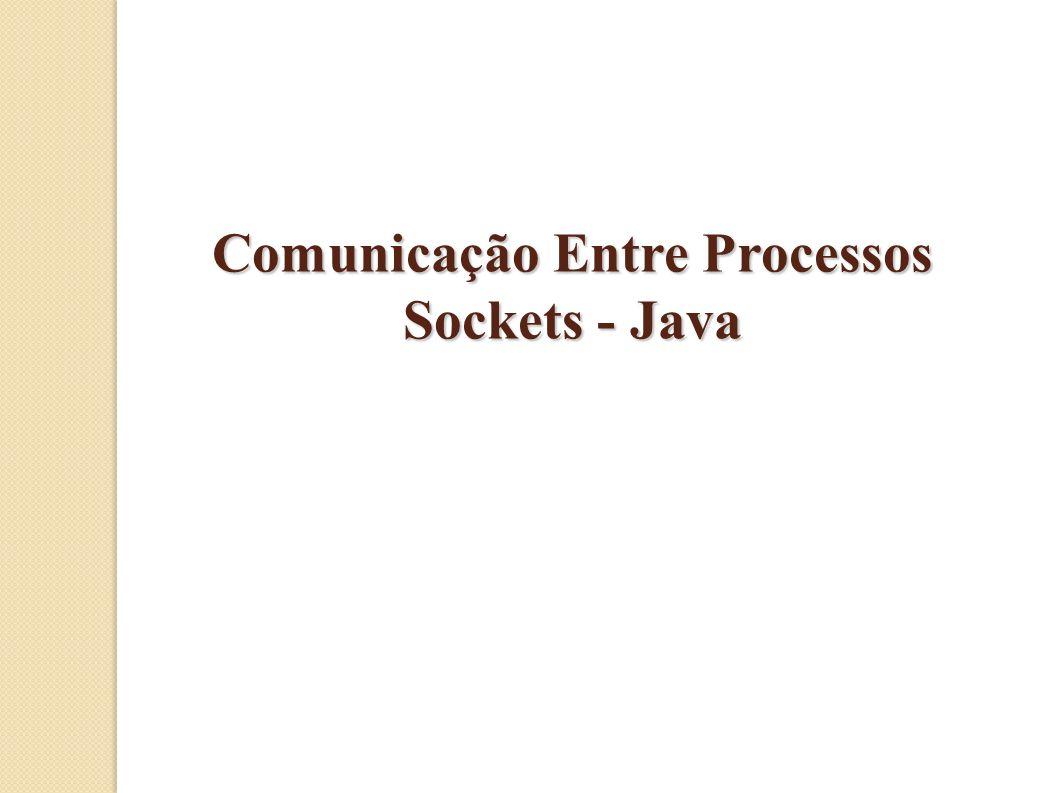 Comunicação Entre Processos Sockets - Java