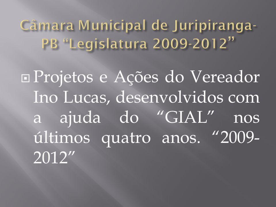 Câmara Municipal de Juripiranga-PB Legislatura 2009-2012