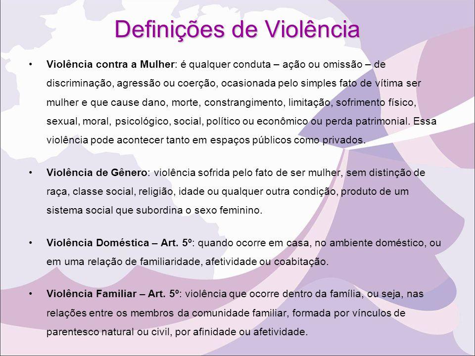 Definições de Violência