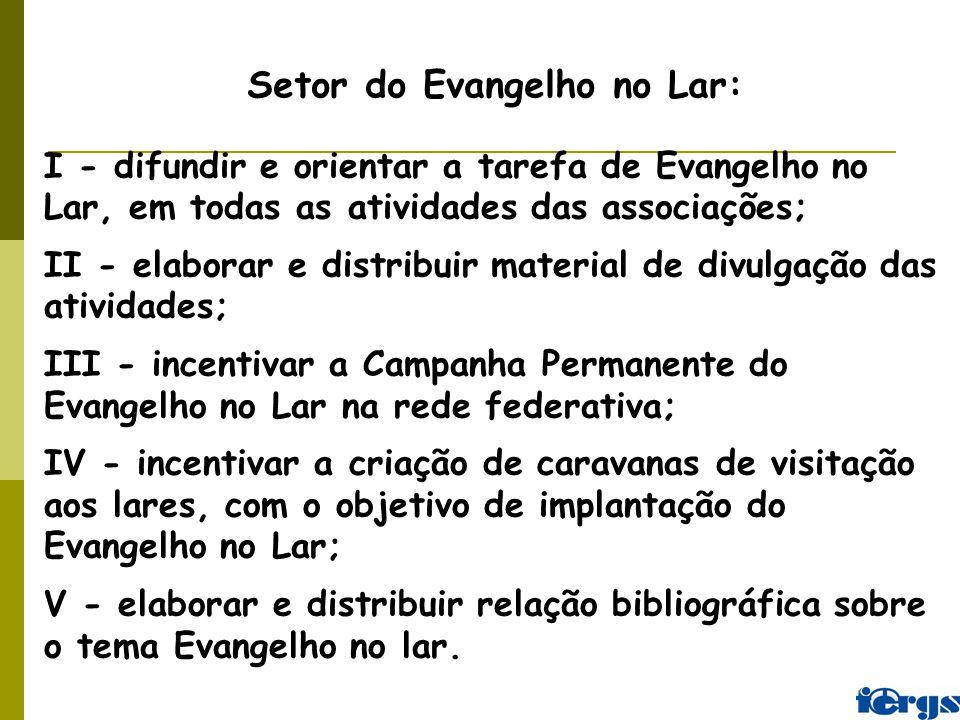 Setor do Evangelho no Lar: