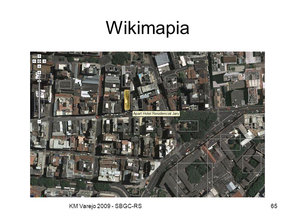 Wikimapia KM Varejo 2009 - SBGC-RS