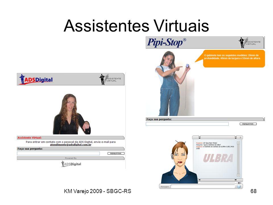 Assistentes Virtuais KM Varejo 2009 - SBGC-RS