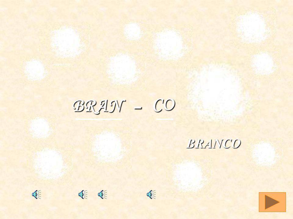 BRANCO CO BRAN - BRANCO