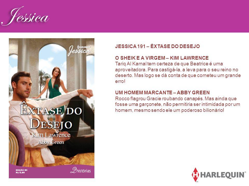 Jessica JESSICA 191 – ÊXTASE DO DESEJO