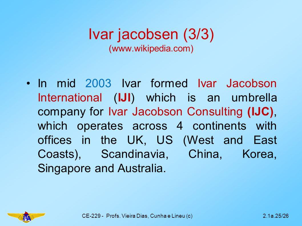 Ivar jacobsen (3/3) (www.wikipedia.com)