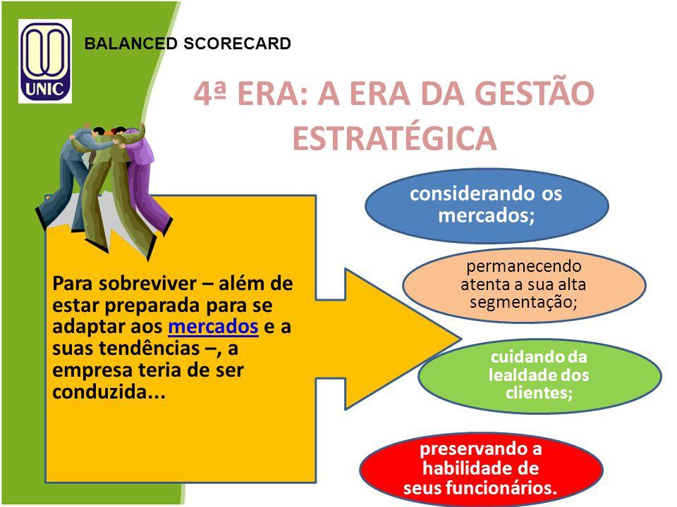 4ª ERA: A ERA DA GESTÃO ESTRATÉGICA
