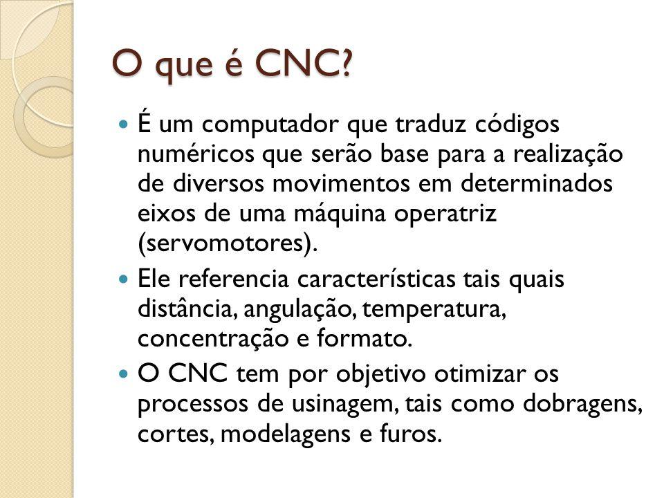 O que é CNC