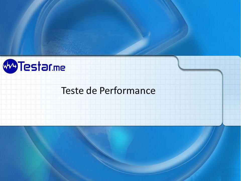 Teste de Performance