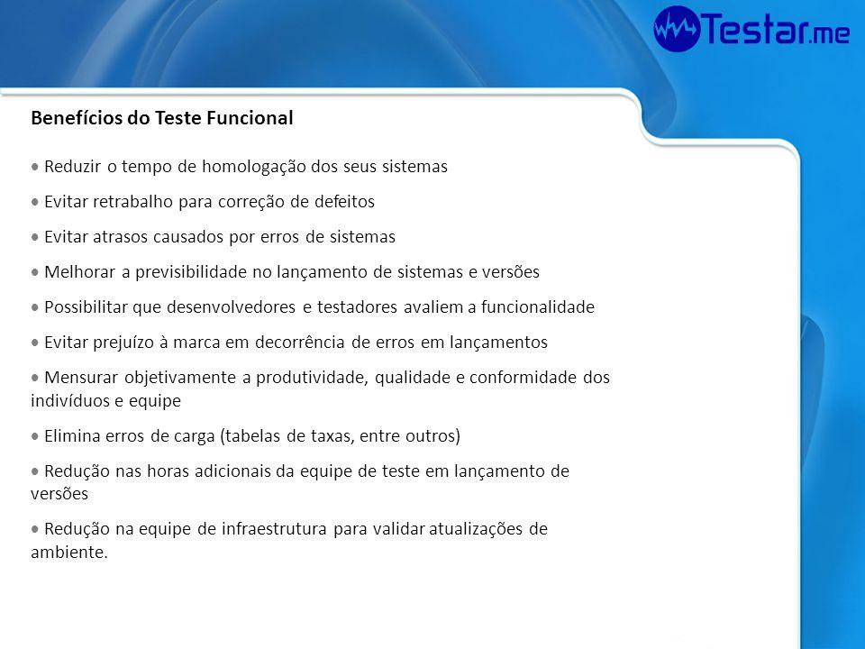 Benefícios do Teste Funcional